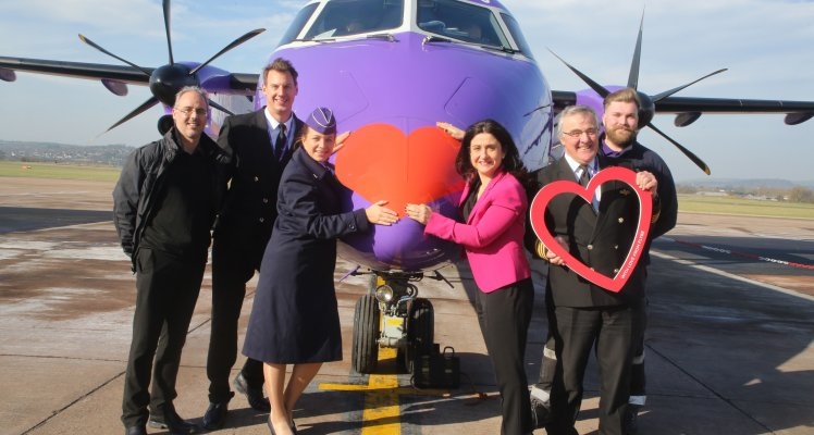 FLYBE-LIEVE IN LOVE!